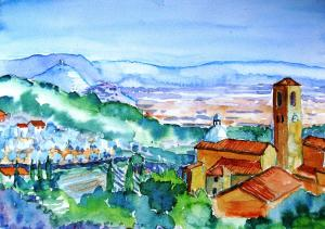 ART VACATION in TUSCANY  with Artist TRUDI DOYLE