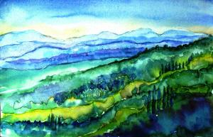 WONDERFUL  ART VACATION  in  TUSCANY- ITALY - 20th -27th AUGUST 2014